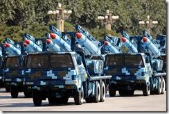 红-12地空导弹方队