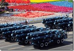 红-9地空导弹方队