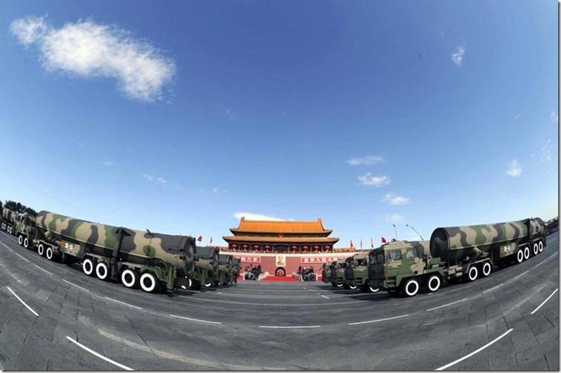 核导弹方队