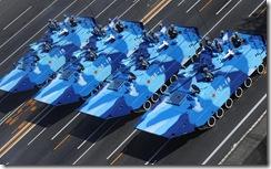 陆战队战车方队