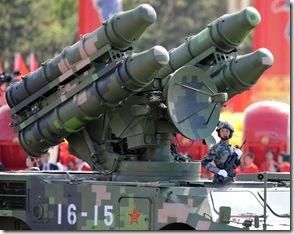 防空导弹方队
