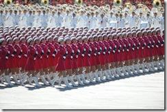 女民兵方队